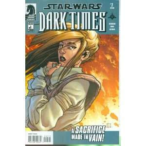 Star Wars Dark Times #7 Comic Book: Mick Harrison: Books
