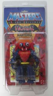He   Man MOTU Mantenna MOC vintage with Zoloworld protective case