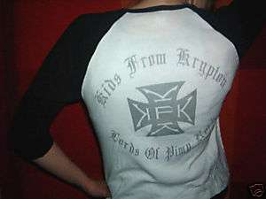 KIDS FROM KRYPTON CONCERT SHIRT rare LADIES Thugs Kisse