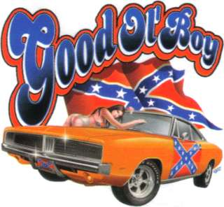 Good Ol Boy Rebel Dixie Flag Old Car T Shirt XXXL 3X