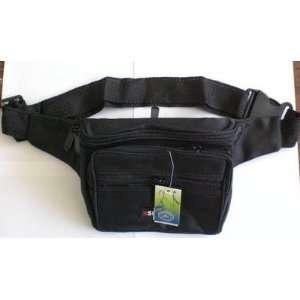 Black Canvas Pouch Men Waist Belt Bag Spcial Discount Sale