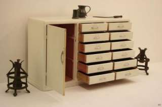 1950s Retro/ Vintage /Shabby Chic white Dental Cabinet