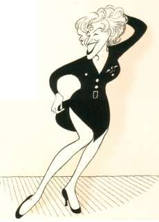 BETTE MIDLER, FOR THE BOYS Signed, AL HIRSCHFELD