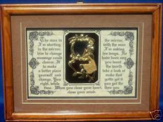 Man In The Mirror Plaque,Michael Jackson, Poems