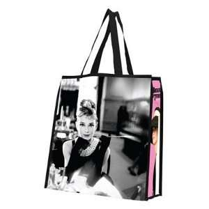 (14x15) Audrey Hepburn Large Recycled Shopper Tote