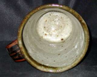 NEW   MINT Shirley Johnson Mingei Pottery Coffee Mug Tea Cup   Warren