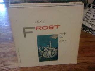 Robert Frost Reads His Poetry vinyl LP CAEDMON 1957