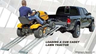 USA 10 ARCHED FOLDING ALUMINUM ATV UTV GOLF CART RAMPS
