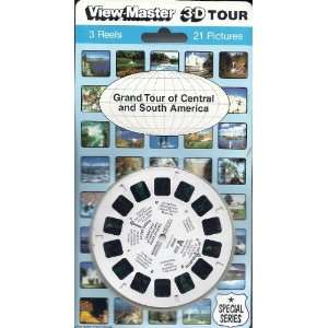 Grand Tour of Central and South America 3d View Master 3 Reel Set
