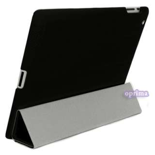 Magnetic Protector Smart Cover Case Bag for iPad 2 Tablet With Hard