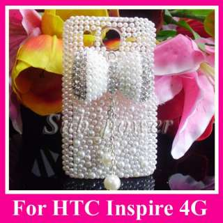BOW Bling Crystal Case cover for HTC Inspire 4G AT&T phone B24