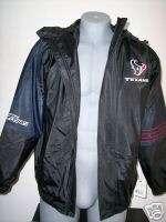 Houston Texans NFL Football Hooded Coat Jacket Med