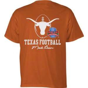 Texas Longhorns Orange Mack Brown BCS Signature T Shirt