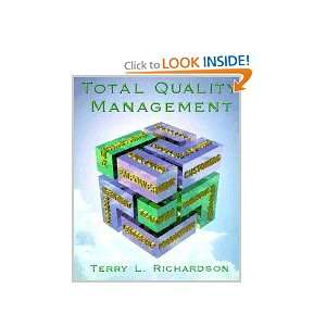 Total Quality Management: Terry Richardson: Books