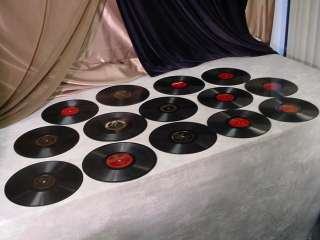 Victrola 78 RPM 10 Records BIG BAND ORCHESTRA Waltz Style Recordings