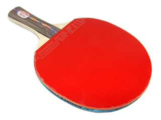 Double Fish 815 4C 3 Stars Ping Pong Long Paddle Table Tennis Racket