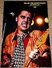 BILLIE JOE ARMSTRONG GREEN DAY LIVE IN CONCERT POSTER