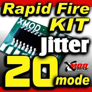Rapid Fire MOD KIT,BLACK OPS, 20 mode DROP SHOT JITTER
