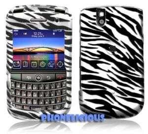 SILVER ZEBRA for Blackberry BOLD 9650 Phone Covers Case