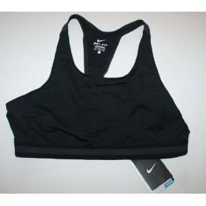Nike Womens Dri fit Sports Bra   Size XL, Black Sports