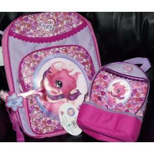 My Little Pony Pinkie Pie Pony Backpack with Matching Lunch Box Lunch