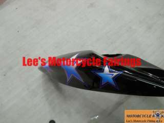 kawasaki Ninja ZX6R 2005 2006 Blue Star Sport Bike Fairings