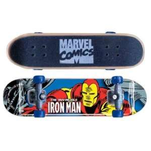 Marvel Skateboard Keyring   Iron Man Toys & Games