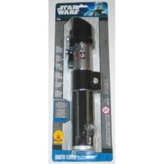 Star Wars Darth Vader Light Up Authentic Lightsaber Costume Toy NEW