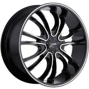 Platinum America 22x9 Black Wheel / Rim 5x115 & 5x5.5 with