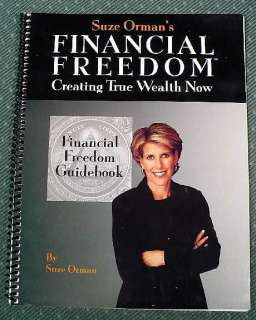 Suze Orman Financial Freedom Wealth Audio Program
