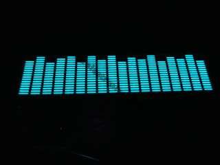 Car Stickers Sound music Activated Sensor Blue LED Light Equalizer