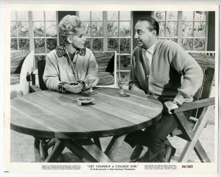 Movie Still~Joan OBrien~Get Yourself a College Girl (1964
