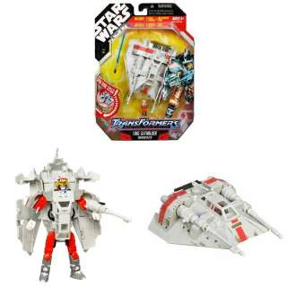 Star wars Transformers LUKE SKYWALKER SNOWSPEEDER