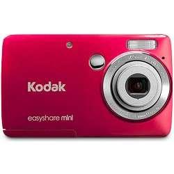 Kodak   EasyShare Mini M200 10MP Red Digital Camera
