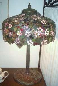 Spreading Cherry Tree Tiffany Lamp