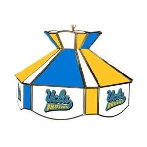 UCLA Bruins   College Stained Glass Swag Light, 16W x 12H