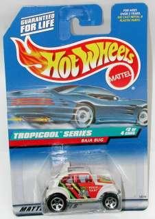 1998 Hot Wheels VW Baja Bug Tropicool Series #694 RASTA