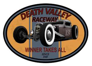 GearHead Rat Rod Death Valley Raceway hot rod car vintage old school T