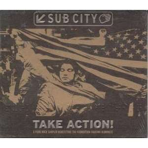 Sub City Take Action Sampler Various Artists Music