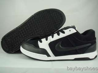NIKE AIR BURNSIDE BLACK/DARK GRAY SKATE MENS ALL SIZES