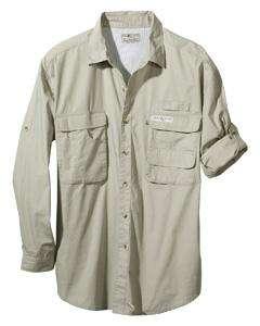 Hook & Tackle Mens Gulf Stream Lg Sleeve Fishing Shirt
