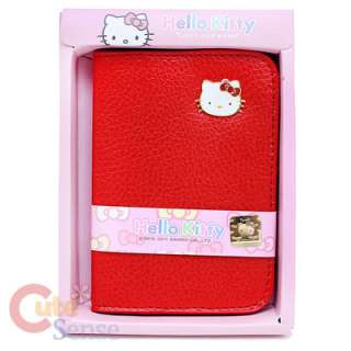Sanrio Hello Kitty Credit Card Holder Wallet Red 1