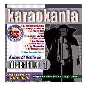 Karaokanta KAR 4355   Al Estilo de Mister Chivo   I