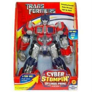 TRANSFORMERS CYBER STOMPIN OPTIMUS PRIME Action NEW
