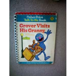 Fisher Price Talk To Me Book    Book No. 12    Grover