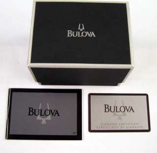 Bulova Watch BVA 130 Series Two Tone Rose Gold Diamonds Automatic
