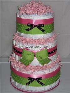 Tier Diaper Cake Baby Shower Gift BOY or GIRL MANY Themes available