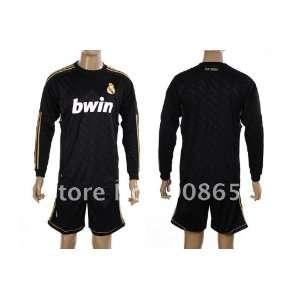 11 12 real madrid away long sleeve high quality football soccer