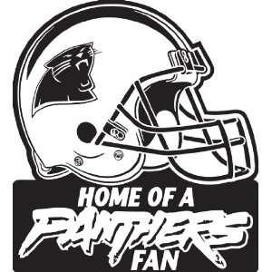 Carolina Panthers NFL Vinyl Decal Stickers / 4 X 3.6