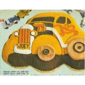 Wilton Cake Pan Comical Car/Classic Car/Hot Rod/Coupe